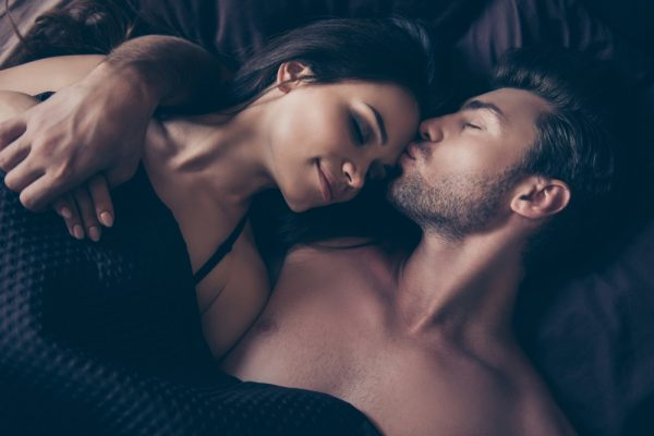 sexy couple after sex