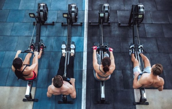 rowing cardio work out
