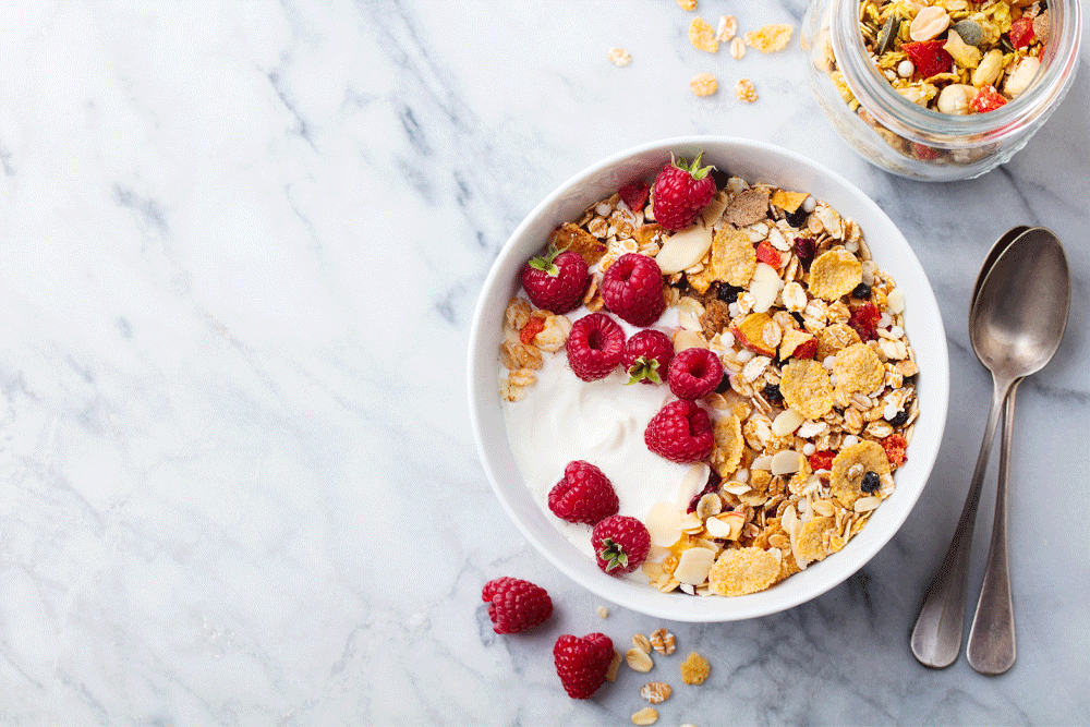 fortified cereal are a great way to start your day with a testerone boost