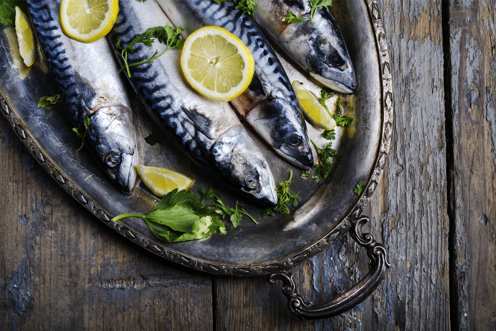 fatty fish is rich in vitamin D which helps boost testosterone
