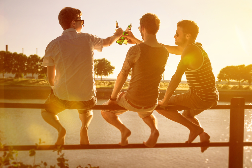 guys having a good time