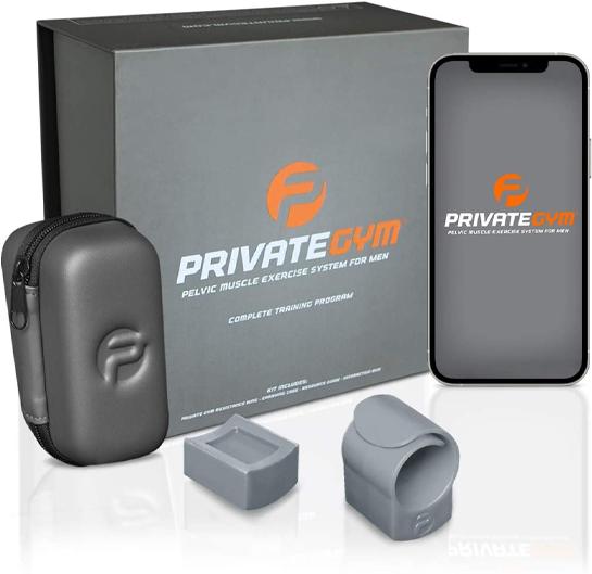 PRIVATE GYM KEGEL EXERCISE SYSTEM FOR MEN