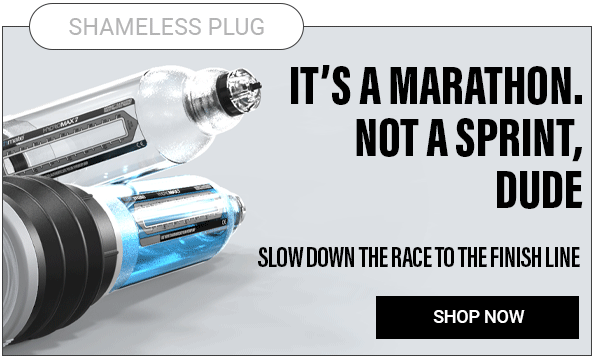 Slow down the race to the finish line