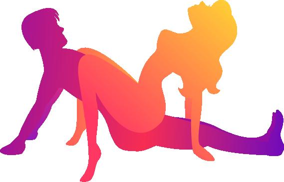 woman on top - forward facing cowgirl